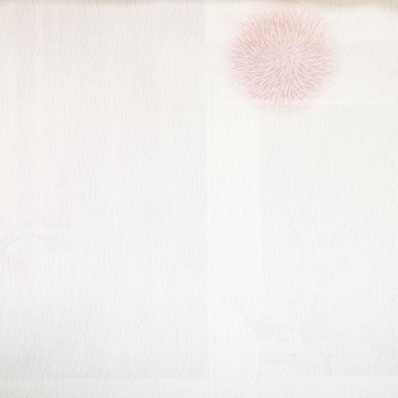 夏日花園-繡球花(紅)布樣